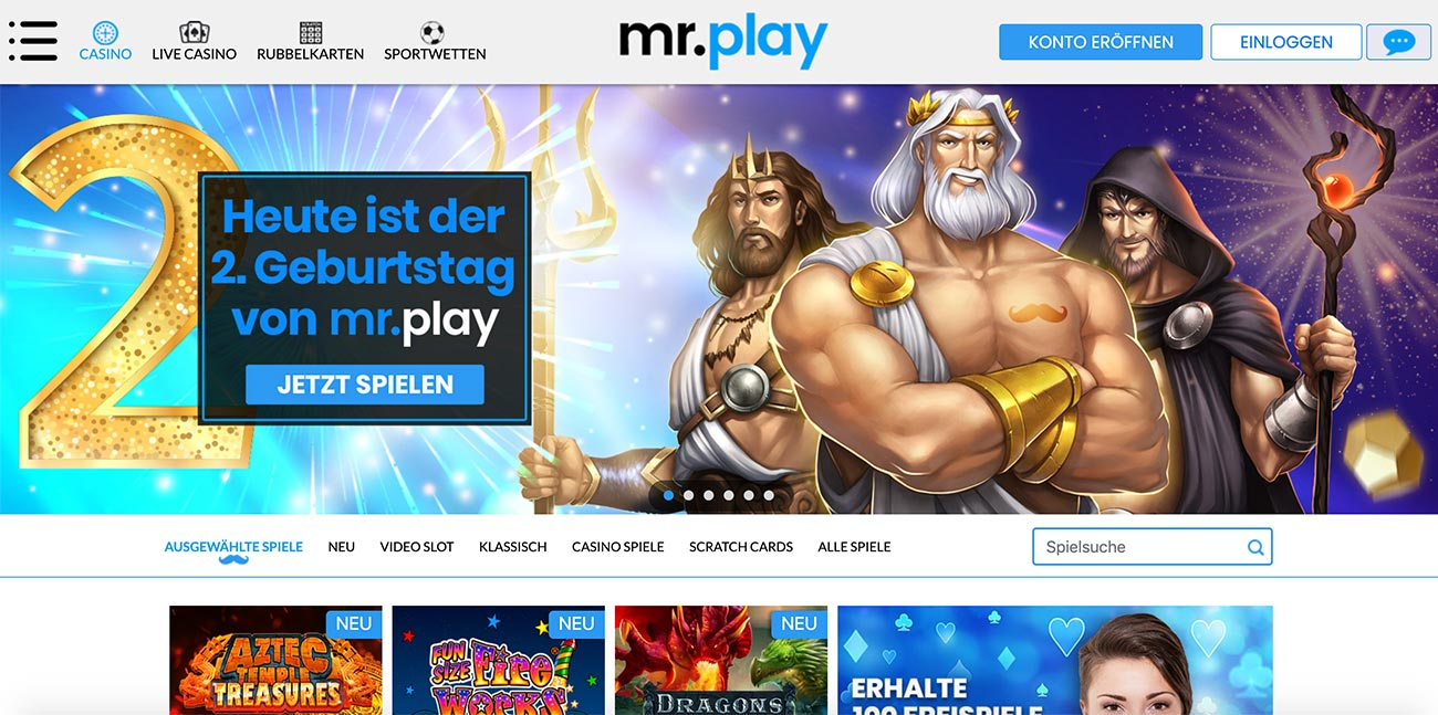 mr play bonus
