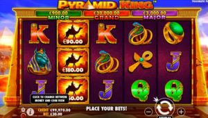 Pyramid King Slot Screenshot