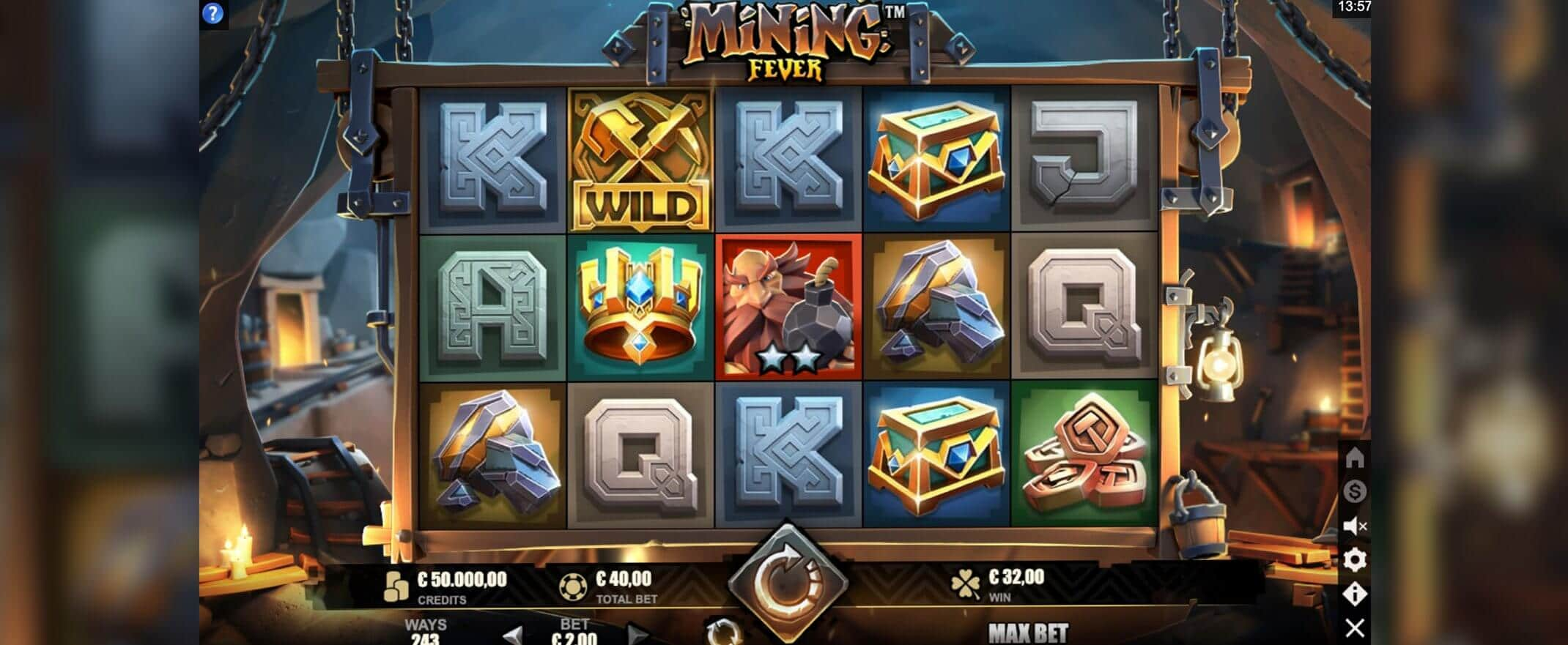Mining Fever by Microgaming